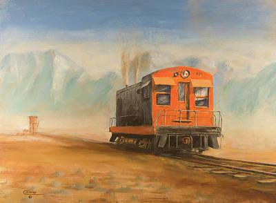 Out Near Smoke Creek Art Print by Christopher Jenkins