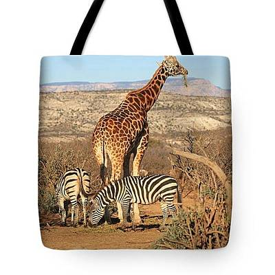 Photograph - Out Of Africa - Tote by Donna Kennedy