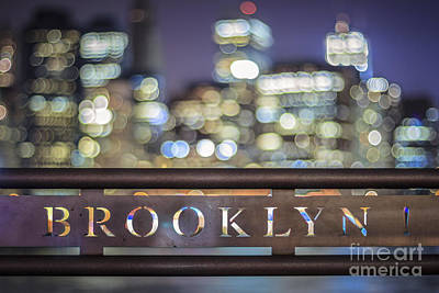 New York Signs Photograph - Out Of Brooklyn by Evelina Kremsdorf