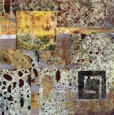 Mixed Media - Out Of Chaos I by Sandra Lee Scott
