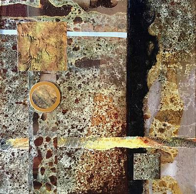 Mixed Media - Out Of Chaos II by Sandra Lee Scott