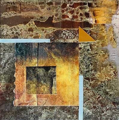 Mixed Media - Out Of Chaos IIi by Sandra Lee Scott