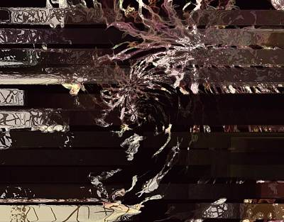Digital Art - Out Of Control by Janet Duffey