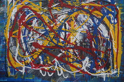 Painting - Out Of Control by Jimmy Clark