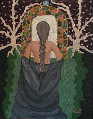 Out Of Darkness Art Print by Carolyn Cable