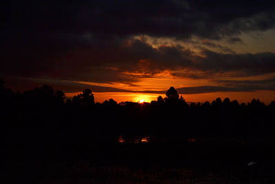 Photograph - Out Of Darkness The Sun Rises by rd Erickson