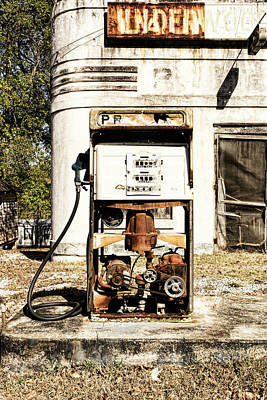 Photograph - Out Of Gas by Sharon Popek