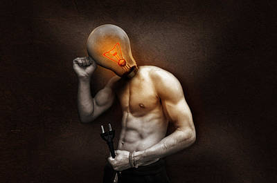 Creative Manipulation Photograph - Out Of Ideas by Fbmovercrafts