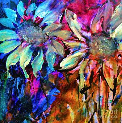 Digital Art - Out Of Style Hip Floral Art by Lisa Kaiser