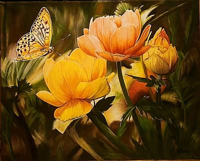 Painting - Out Of The Dark by Sheryl Gallant