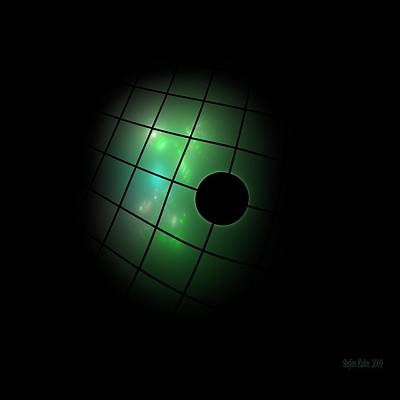 Fractal Geometry Digital Art - Out Of The Dark by Steve K