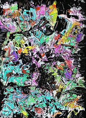 Painting - Out Of The Darkness 2 by Jo-Anne Gazo-McKim