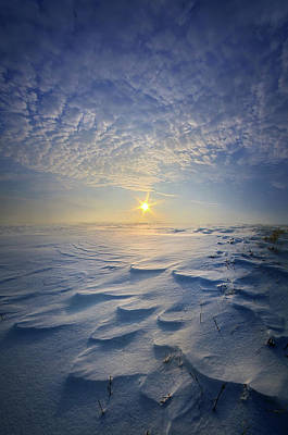 Print featuring the photograph Out Of The East by Phil Koch