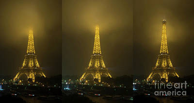 Photograph - Out Of The Fog In Paris by Tim Mulina