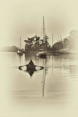 Photograph - Out Of The Fog by Sandra Anderson