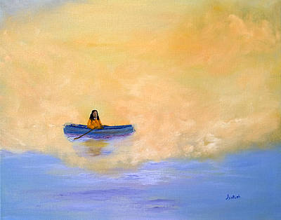 Yogananda Painting - Out Of The Mist by Jyotish Novak