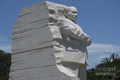 I Have A Dream Wall Art - Photograph - Out Of The Mountain Of Despair A Stone Of Hope by David Bearden