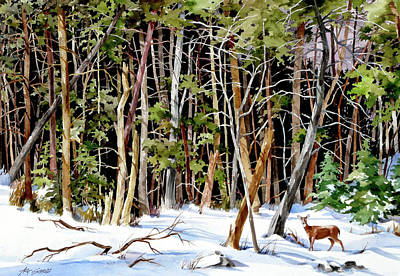 Painting - Out Of The Woods by Art Scholz