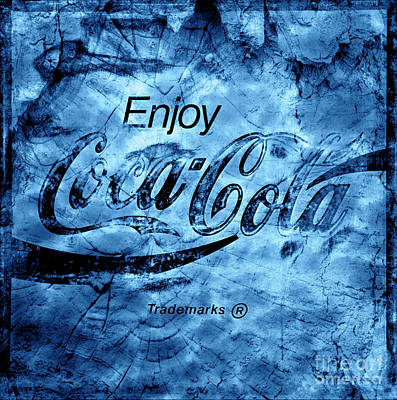Photograph - Out Of This World Coca Cola Blues by John Stephens