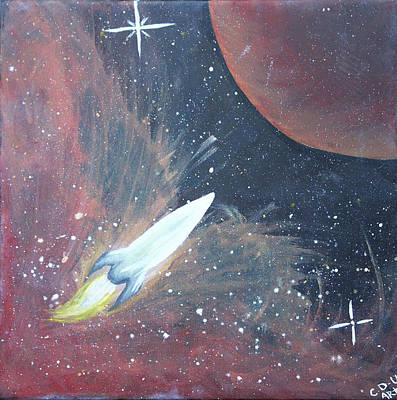 Painting - Out Of This World by Cyrionna The Cyerial Artist