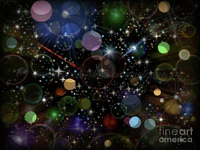 Digital Art - Out Of This World by Lisa Marie Towne