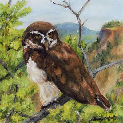 Painting - Out On A Limb by Lori Brackett