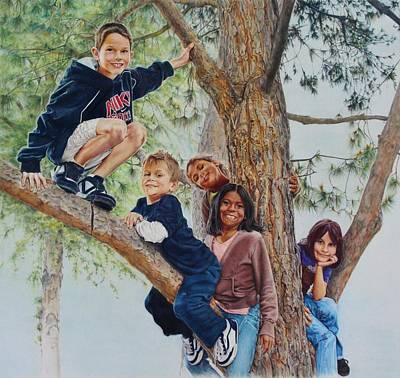 Out On A Limb Original by Tess Lee