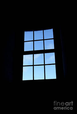 Photograph - Out The Window At Jupiter Lighthouse by D Hackett