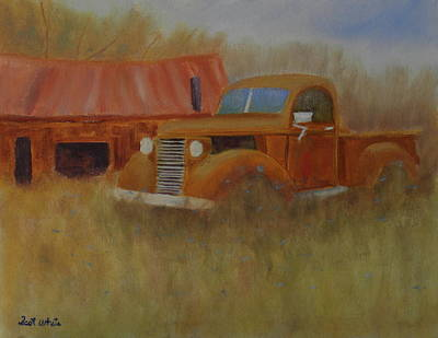 Painting - Out To Pasture by Scott W White