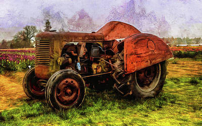 Photograph - Put Out To Pasture by Thom Zehrfeld