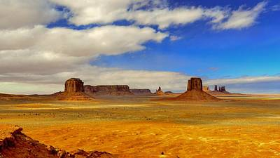 Mountain Photograph - Out West by Ca Photography