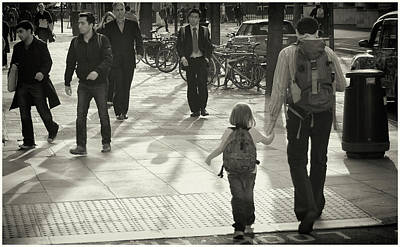 Photograph - Out With Daddy by Stewart Marsden