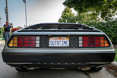 Photograph - Outatime by Randy Scherkenbach