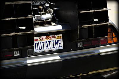 Outatime Print by Ricky Barnard