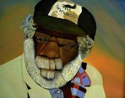 Painting - Outback Elder by JoeRay Kelley