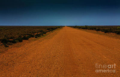 Blue Hues - Outback road by Sheila Smart Fine Art Photography