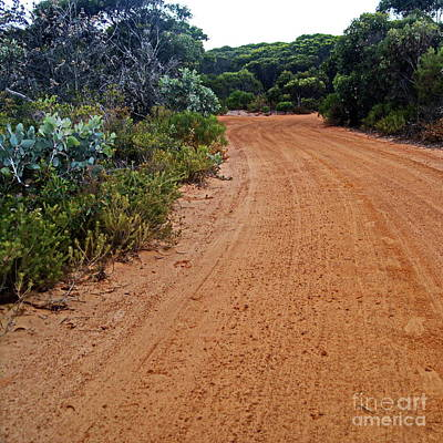 Photograph - Outback Road by Tim Richards