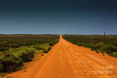 Kids Alphabet - Outback road to Mungo by Sheila Smart Fine Art Photography