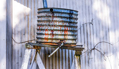 Photograph - Outback Water Tank by Lexa Harpell