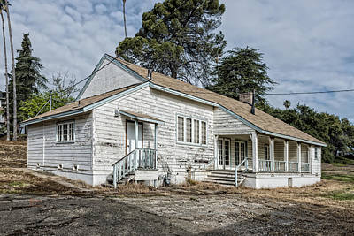 Hdr Photograph - Outbuilding by Jim Thompson