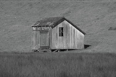 Photograph - Outbuilding by Lawrence Pratt