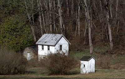 Photograph - Outbuildings Three by Liz Allyn