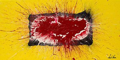 Combustion Painting - Outburst by Austin Kucera