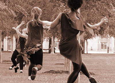 Kimbell Photograph - Outdoor Dance Performance by Brian Norgaard
