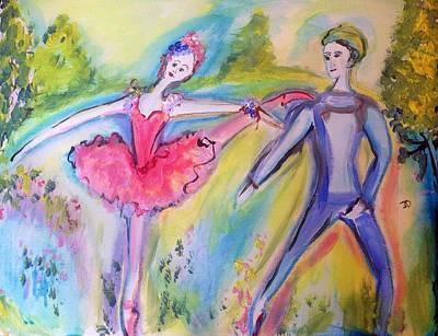 Stellar Interstellar - Outdoor ballet for love   by Judith Desrosiers