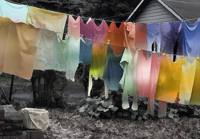 Photograph - Outdoor Dry Cycle by Kellice Swaggerty