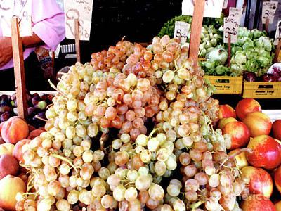Photograph - Outdoor Fruit Stand - Verona, Italy by Merton Allen