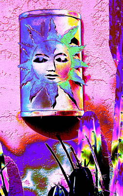 Photograph - Outdoor Luminary 4 by M Diane Bonaparte