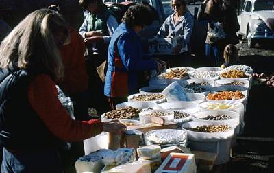 Photograph - Outdoor Market by John Schneider