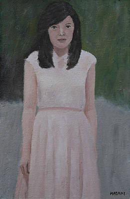 Painting - Outdoor Portrait by Masami Iida